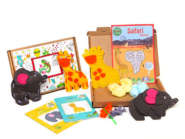 MyGeckoBox - easy to sew animal crafts