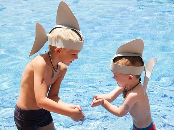 The perfect kids pool party fancy dress