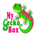Mygeckobox christmas logo