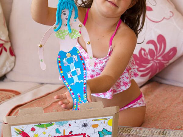 Create and Play with your mermaid friend