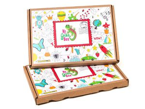 MyGeckoBox Little Explorer Singe Craft activities