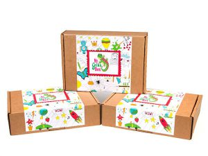 MyGeckoBox - 3 Monthly Subscription Kids Crafts