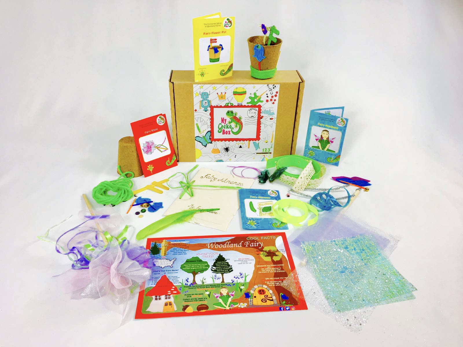 Woodland Fairy Craft Box