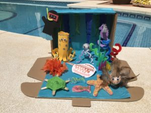 Great Barrier Reef Diorama For Kids